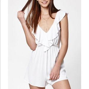 Kendall & Kylie White Romper